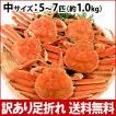 (石川県橋立産)訳あり足折れ&サイズ混合 茹で香箱蟹/せいこ:中サイズ5〜7匹 約1.0kg 詰め合せ