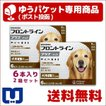 A:フロントラインプラス 犬用  L (20〜40kg) 6本入 2箱セット 動物用医薬品 使用期限:2021/08/31以降(05月現在)