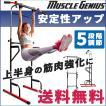 ぶら下がり健康器 筋トレ 宅トレ 懸垂 腕立て 腹筋 くびれ 送料無料 4wayマルチジム2 Muscle Genius マッスルジーニアス MG-MG02