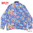 """SUN SURFRAYON L/S""""EMPYREAL GIFT FROM HAWAII""""Style No.SS28553"""