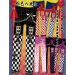 8WS020 乙女蒔絵の矢絣宴 花押手箱の真夢絵巻タイツ