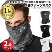 フェイスマスク 夏用 2枚セット フェイスカバー UV マスク スポーツ 冷感 テニス 日焼け 耳掛け 大人子供兼用 バイク ゴルフ ランニング 飛沫