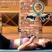 トレーニングチューブ フィットネスチューブ 弾性ラテックスチューブ エクササイズ 強度別 5本セット インナーマッスル フィットネス ダイエット 筋トレ