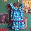 Caldia カルディア  女の子 ワンピース水着 ブルー  春夏新作 子供服