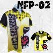 ボウリングウエア ポロシャツ 名入れ ボウリングウェア ネコ柄  NFP-02 ストネコ