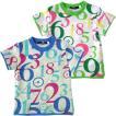 カルディア CALDia カラフルナンバー半袖Tシャツ/キッズ