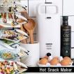 無料ラッピング/送料無料/【HotSnackMaker】ホットスナックメーカー[プリンセス]PRINCESS プレーン&ホットサンドプレート 付属/132409