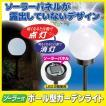 ソーラー式 ボール型ガーデンライト SV-6285 ライト 屋外 防犯ライト LED 強力 ソーラー充電 センサーライト