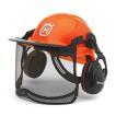 ハスクバーナ フォレストヘルメット ファンクショナル ヘルメット一式 (蛍光色) H5764124-01 チェーンソー ( チェンソー )用アクセサリー