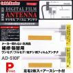 送料お得 ネコポス可 フィルムアンテナ カーアンテナ 補修用 左右2枚入+アースシート付 機種を問わない汎用品 AD-510F 日本製
