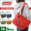 コールマン ショルダーバッグ メッセンジャ−バッグ 14L Coleman  ATLAS MESSENGERCAT5051