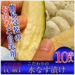 水茄子漬け C級業務用・自宅用・家庭用10個入 簡易包装 漬物 大阪泉州名産