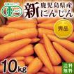 有機栽培(有機JAS)鹿児島県・新にんじん10kg