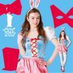 ハロウィン コスプレ 衣装 女性 ディズニー 不思議の国のアリス風 白うさぎ コスチューム 仮装 ウサギ ホワイトラビット