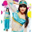 ハロウィン コスプレ 衣装 ディズニー レディース アラジン ジャスミン風 仮装 コスチューム 女性 アラビアンプリンセス