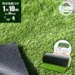 防炎リアル人工芝 [U字ピン20本入] 1m×10m 芝丈36mm [彩-IRODORI-] UV ロールタイプ人工芝 綺麗 高密度 高級 芝
