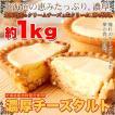 【送料無料】【訳あり】濃厚チーズタルトどっさり1kg