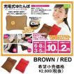 充電式ゆたんぽ ECO28BR (おしらせアラーム付)(BROWN ブラウン)