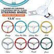 California Metal Flake Steering Wheels 3-Holes 34cm(13.5