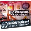 MOON Equipped (ムーン イクイップド)   Black ビニール バナー