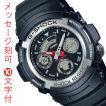 名入れ 時計 刻印10文字付 カシオ Gショック AW-590-1AJF CASIO G-SHOCK メンズ腕時計 アナデジ 国内正規品 代金引換不可 取り寄せ品