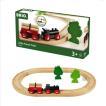 木のおもちゃ 汽車レール BRIO 小さな森の基本レールセット 33042