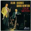 【中古】ALAN BARNES AND DAVID NEWTON / アラン・バーンズ&デヴィッド・ニューマン / LIKE MINDS 〔輸入盤CD〕