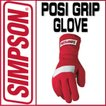 USA SIMPSON 四輪用 グローブ POSI GRIP GLOVE(ポジグリップグローブ) <規格> SFI 3.3/5