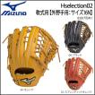 野球 グラブ グローブ 一般軟式用 ミズノ MIZUNO グローバルエリート Hselection 02 外野手用 サイズ16N 新球対応