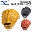 野球 グラブ グローブ 一般軟式用 ミズノ MIZUNO グローバルエリート Hselection 02 投手用 ピッチャー サイズ11 新球対応