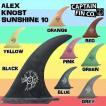 CAPTAIN FIN(キャプテンフィン) ALEX KNOST SUNSHINE 10 FIN フィン ロングボードフィン アレックスノスト