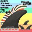 CAPTAIN FIN(キャプテントライ フィン) CHIPPA WILSON THRUSTER SINGLE TAB FUTURES トライ フィン