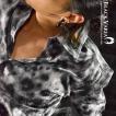 ヒョウ豹柄 ドレスシャツ パイソン レギュラーカラー 長袖シャツ 日本製 メンズ(グレー) g012
