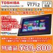 TOSHIBA windows tablet VT712 core i5 3439YT/4G/SSD128GB/win10Pro64/無線LAN/BT/USB3.0/HDMI/WebCam/FHD