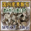 国産 麦飯石【Mサイズ、1kg】【美...