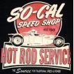 ソーキャル・スピード・ショップ So-Cal Speed Shop Tシャツ Hot Rod Service