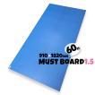 青ベニヤ 床養生ボード MUSTボード1.5 厚み1.5×幅910×長さ1820mm  60枚入り