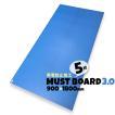 青ベニヤ 床養生ボード MUSTボード3.0 帯電防止 厚み3.0×幅900×長さ1800mm  5枚入り