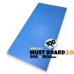 青ベニヤ 引越養生ボード MUSTボード3.0 帯電防止 厚み3.0×幅900×長さ1800mm  100枚入り