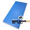 青ベニヤ 引越養生ボード MUSTボード3.0 マストボード 静電気防止 厚み3.0mm×幅900mm×長さ1800mm  50枚入り