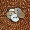 貝ボタン バリ島雑貨 丸型/2穴/φ13mm/t1.5mm 1個入