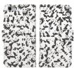 iPhone8 iPhone7 iPhone6/6s iPhone 5/5s/SE アイフォン ケース  手帳 型 大 人気 パンダ panda 迷彩 濃い グレー