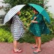 キッズ長傘|【392 plus m】 gingham 55cm 雨傘