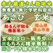 無農薬 『朝日-あさひ-』 2キロ 白米 岡山県岡山市産 お米 白米 新米