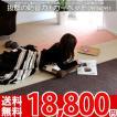 カーペット カーペット ラグ 防音カーペット 4畳半 四畳半 4.5帖 江戸間 絨毯 エディcarpet