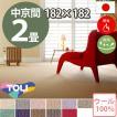 カーペット 中京間 二畳 2畳 ウールカーペット ラグ 2帖(182×182) 絨毯 東リ ボンフリー