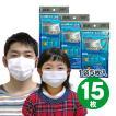 高機能マスク モースガード 15枚 (5枚入×3袋) N95規格より高機能 N99規格フィルター搭載マスク 日本製 不織布マスク