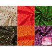 スケアドットプリント ハッピーポルカドット Happy polka dots 針通り良く、美しいプリントのスケア生地 綿100% 110cm巾 クリスマス ハロウィン