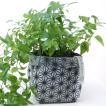 鉢カバー ガーデニング 園芸用雑貨 uchi-green 麻の葉