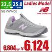 ニューバランス New Balance NB WW403 (GY) グレー 2E ランニング ウォーキング スニーカー 靴 シューズ